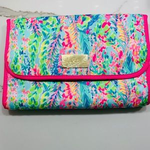 Lily Pulitzer Makeup  Bag GWP Catch The Wave
